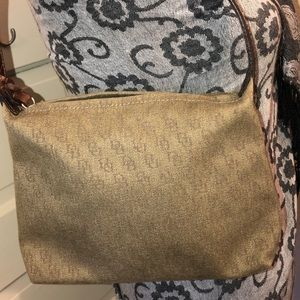 Dooney & Bourke signature fabric Shoulder Bag